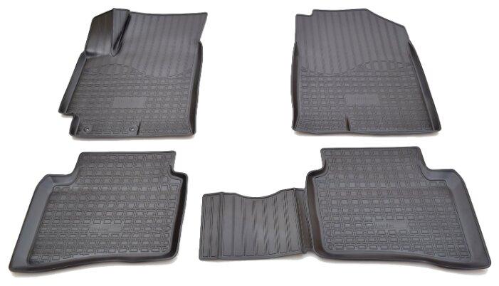 Комплект ковриков NorPlast NPA11-C31-380 4 шт.