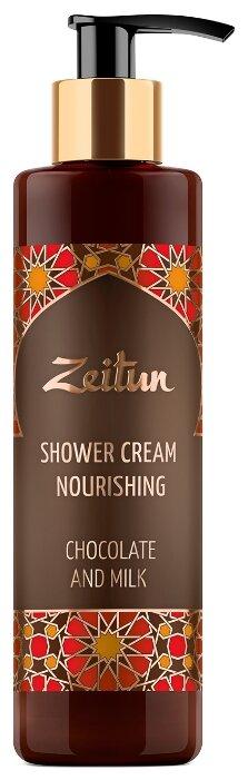 Крем гель для душа Zeitun Шоколад