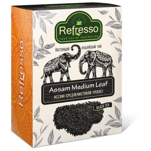 Чай черный Refresso Ассам среднелистовой , 250 г чай akbar чай черный среднелистовой gold 250 г