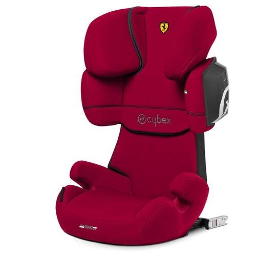 Автокресло группа 2/3 (15-36 кг) Cybex Solution X2-Fix (for Scuderia Ferrari), Racing Red