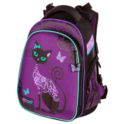 Hummingbird Рюкзак Black Cats (T71), фиолетовый