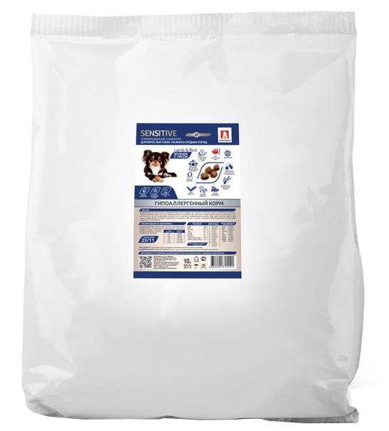 Корм для собак Зоогурман Sensitive ягненок с рисом