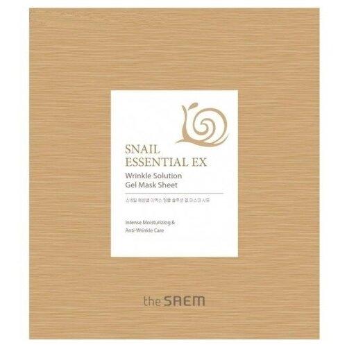 цена на The Saem Snail Essential EX Wrinkle Solution Gel Mask Sheet антивозрастная, 28 г