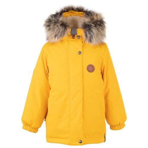 Купить Парка KERRY Marta K20435 размер 110, 0109 желтый, Куртки и пуховики