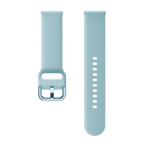 Samsung Ремешок для Galaxy Watch (42 мм) / Galaxy Watch Active (спортивный) голубой