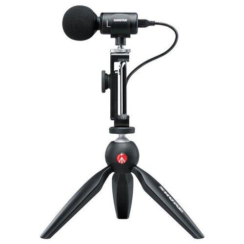 Микрофон Shure MOTIV MV88+, черный