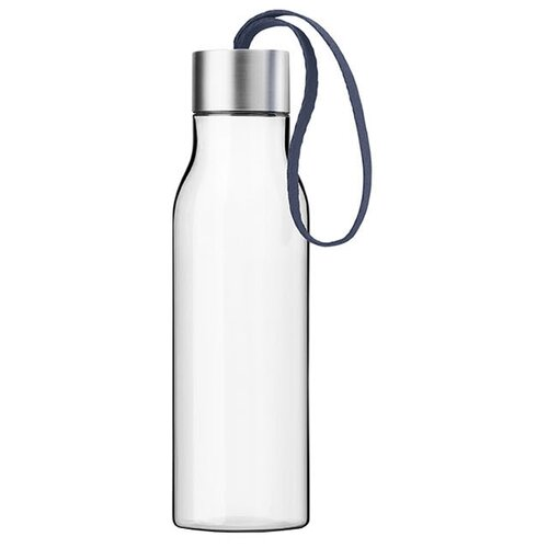 Бутылка для воды Eva Solo с шнурком 0.5 пластик, металл, силикон navy blue
