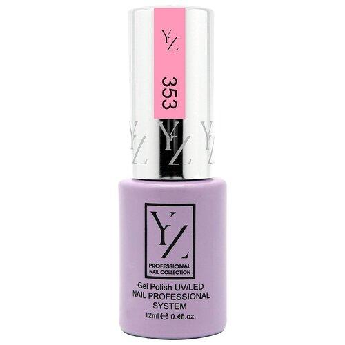 Купить Гель-лак для ногтей Yllozure Nail Professional System, 12 мл, оттенок 353 нежная роза