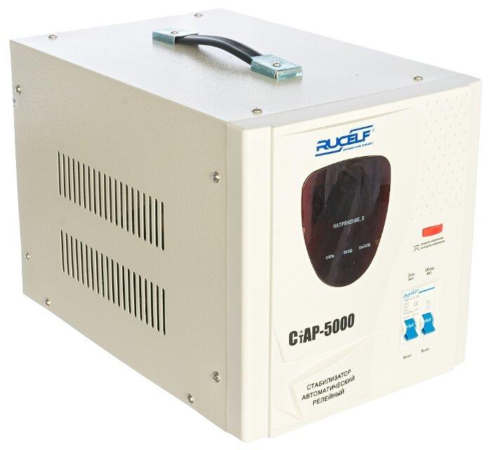 Стабилизатор напряжения однофазный RUCELF СтАР-5000 (3 кВт)