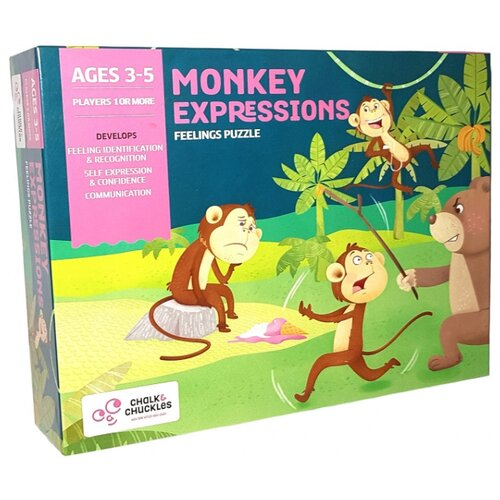 Настольная игра Chalk & Chuckles Monkey Expressions