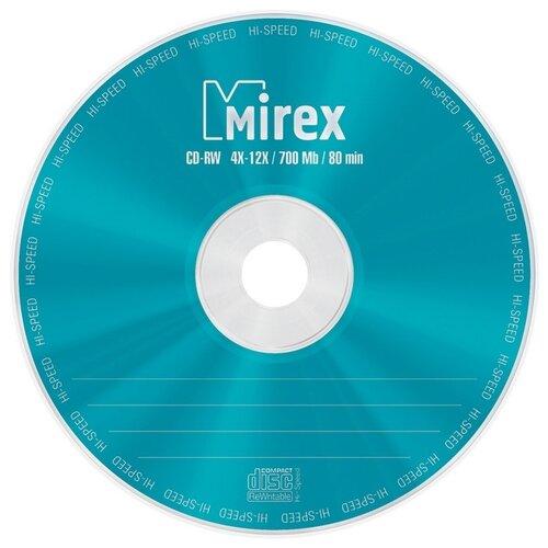 Фото - Носители информации CD-RW, 4x-12x, Mirex, Cake/25, UL121002A8M оптический диск cd rw mirex 700mb 4 12x cake box 10шт ul121002a8l