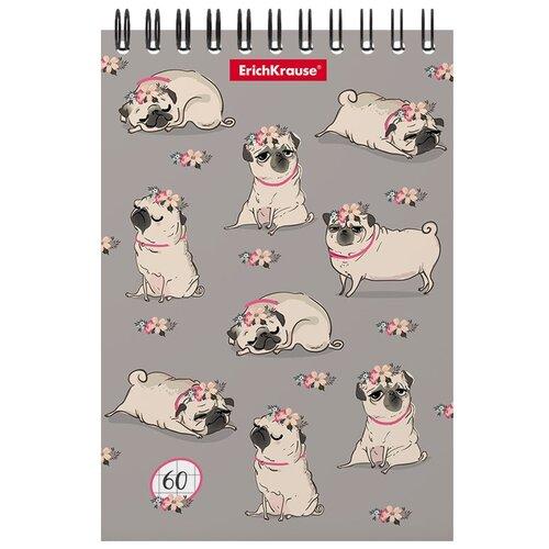 Купить Блокнот ErichKrause Chilling Dog А6, 60 листов, Блокноты