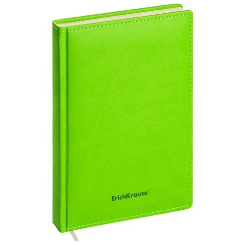 Ежедневник ErichKrause Vivella недатированный, искусственная кожа, А5, 168 листов, салатовый, Ежедневники, записные книжки  - купить со скидкой