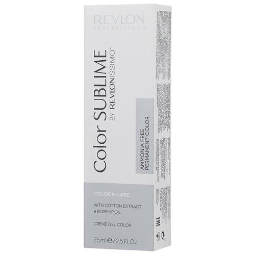 Revlon Professional Revlonissimo Color Sublime стойкая краска для волос, 75 мл, 9.12 очень светлый блондин пепельно-перламутровый фото