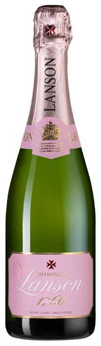 Шампанское Lanson Rose Label Brut Rose, 0.75 л