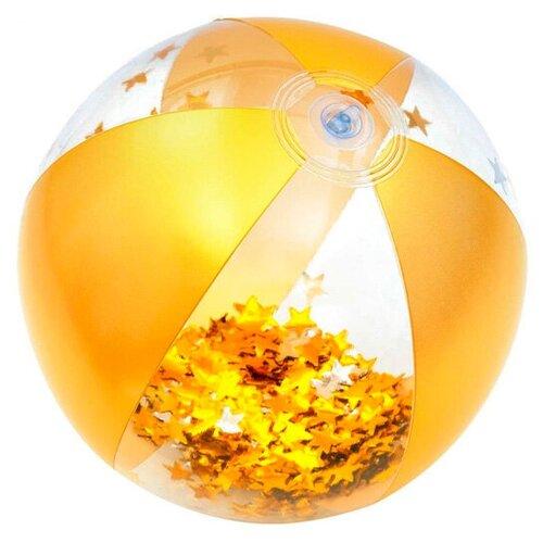 Надувной пляжный мяч Bestway Glitter Fusion 1 шт. надувной мяч пляжный поп арт 91 см bestway арт 31044