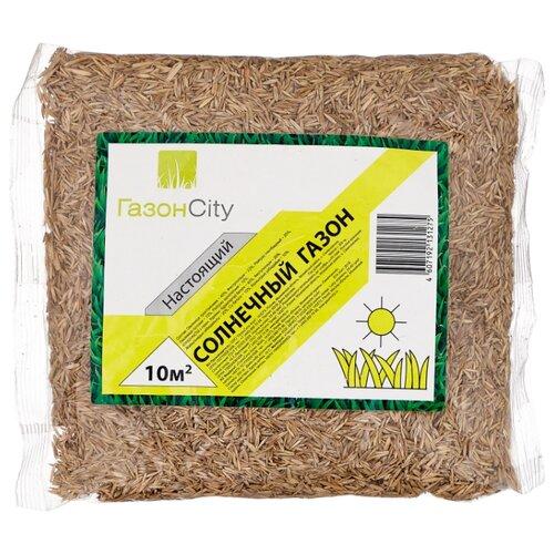 ГазонCity Настоящий Солнечный газон, 0,3 кг газон изумрудный ковер гавриш 0 6 кг