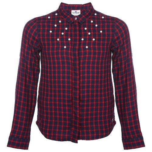 Блузка Tom Tailor размер 140, темно-синий фото