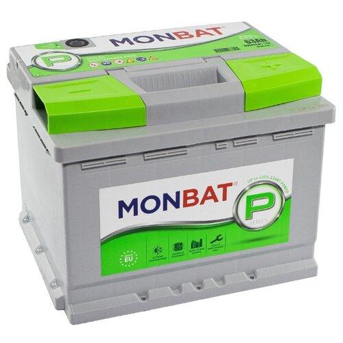Автомобильный аккумулятор MONBAT PREMIUM 63 Ач 600 А (обратная полярность)
