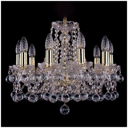 Фото - Люстра Bohemia Ivele Crystal 1413/10/165/G/Balls, E14, 400 Вт люстра bohemia ivele crystal 1413 18 400 g e14 720 вт