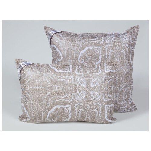 Подушка стеганная VESTA текстиль 70*70 см, шерсть верблюда, ткань тик, полиэстер 100%