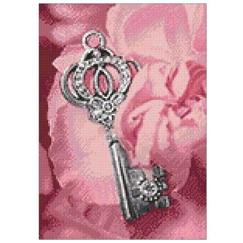 Фото - Гранни Набор алмазной вышивки Ключик (Ag 284) 27х38 см гранни набор алмазной вышивки радужный слон ag 482 27х38 см