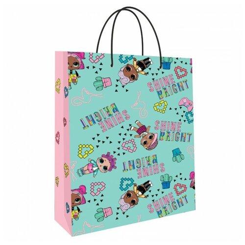 Фото - Пакет подарочный ND Play LOL 25 х 35 х 10 см мятный/розовый пакет подарочный nd play lol 25 х 35 х 10 см мятный розовый