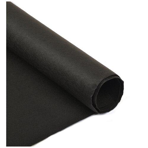 Фетр в рулоне полужесткий IDEAL 1мм 100см FLT-HS2 уп.5м цв.060 черный