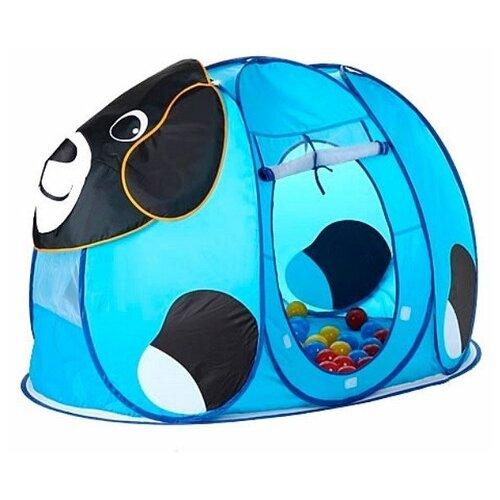 Купить Палатка Calida Собачка 668 голубой/черный, Игровые домики и палатки