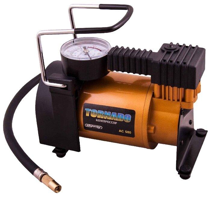 Автомобильный компрессор skyway Торнадо AC-580 — купить по выгодной цене на Яндекс.Маркете