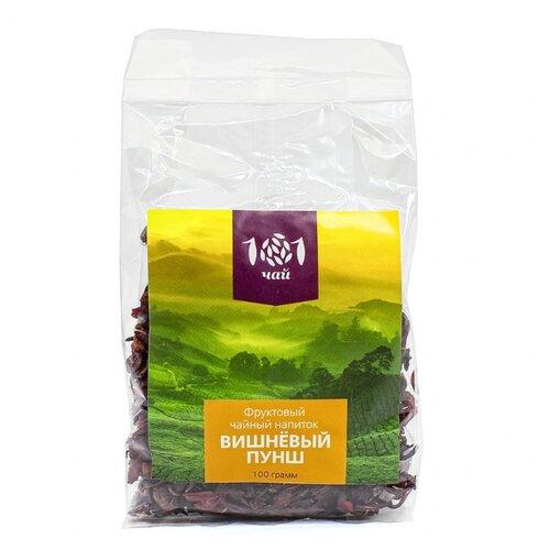 Чай красный 101 чай Вишневый пунш, 100 г фото