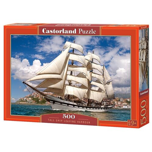Пазл Castorland Tall Ship Leaving Harbour (B-52851), 500 дет. пазл castorland tall ship leaving harbour b 52851 500 дет