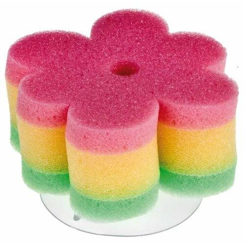 Купить Губка Canpol Babies Цветок (43/106) розовый, Мочалки, губки