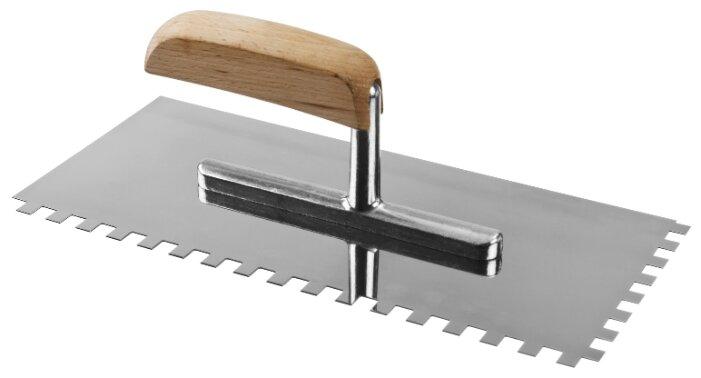 Гладилка зубчатая ЗУБР Профессионал 0806-08_z01 зеркальная 280x130 мм