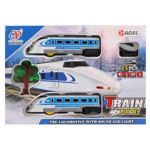 Jin Hong Xin Toys Игровой набор Train play set , JHX9907, Наборы, локомотивы, вагоны  - купить со скидкой