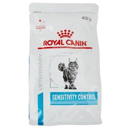 Корм для кошек Royal Canin Sensitivity Control при проблемах с ЖКТ, при аллергии, с уткой 400 г корм сухой royal canin vet sensitivity control sc21 для собак при пищевой аллергии или непереносимости с уткой 1 5 кг