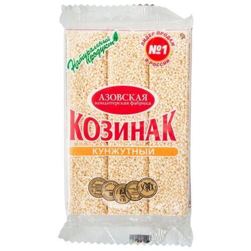 Козинак Азовская кондитерская фабрика Кунжутный 150 г
