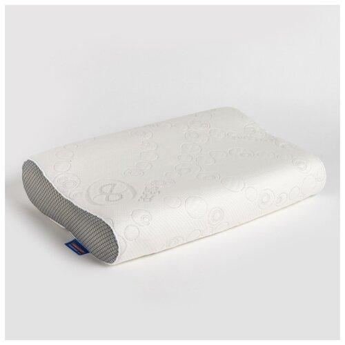 Подушка VESTA текстиль антихрап, Classic, с эффектом памяти, 33*52*9*11 см, ППУ, полиэстер 100%
