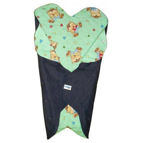 Конверт-одеяло Ramili Baby Denim Style green ramili ультразвуковой увлажнитель воздуха для детской ramili baby ah770 с рождения