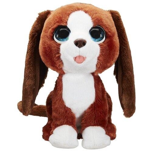 Интерактивная мягкая игрушка FurReal Friends Счастливый рыжик E4649 коричневый/белый интерактивная игрушка furreal friends полярный медвежонок