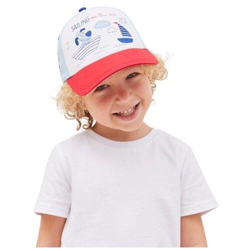 Купить Бейсболка Kotik размер 50-52, голубой, Головные уборы