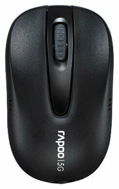 Мышь Rapoo Wireless Optical Mouse 1070P Black USB