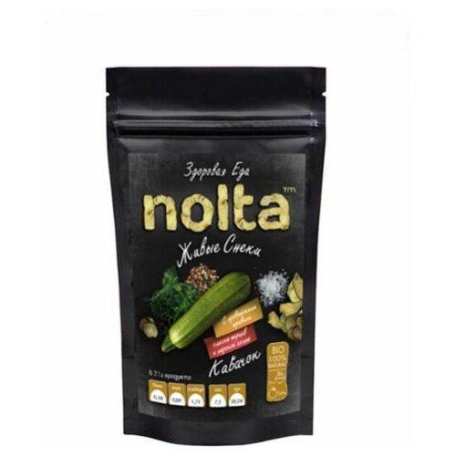 Живые снеки Nolta Здоровая еда Кабачок с прованскими травами, смесью перцев и морской солью 21 г фото