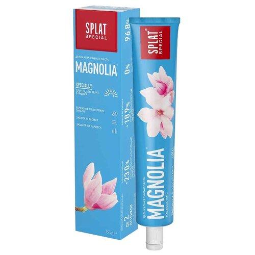 Зубная паста SPLAT Special Magnolia, магнолия и мята, 75 мл splat набор splat гипоаллергенная зубная паста зеро баланс 75 мл 2 штуки splat special