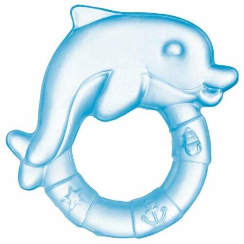 Купить Прорезыватель Canpol Babies Дельфин 2/221 голубой, Погремушки и прорезыватели