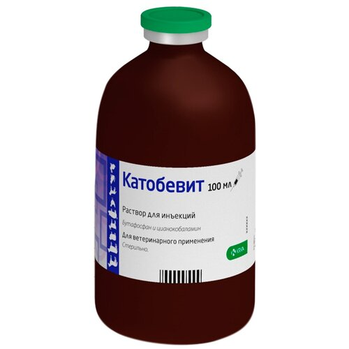 Фото - Раствор Krka d. d. Катобевит, 100 мл таблетки krka d d рикарфа 50 мг 20шт в уп