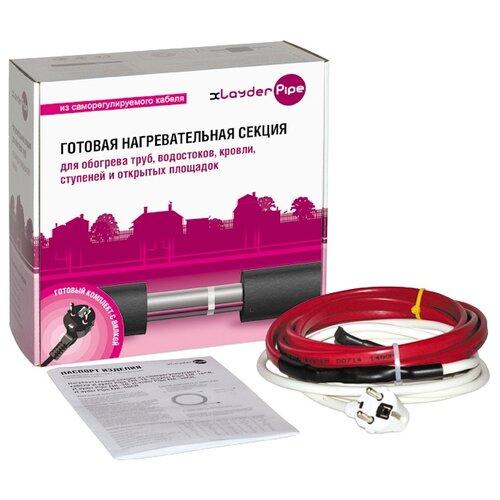 Греющий кабель саморегулирующийся xLayder Pipe EHL-30CR-7 7 м греющий кабель oasis 1700 8 7 15 3м2 1700вт