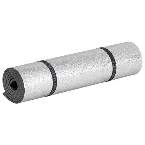 Коврик Пенолон 101E8 180х57 см, антрацит/металл