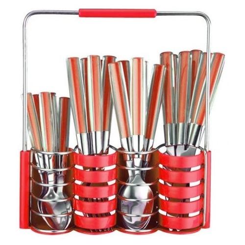 Фото - Peterhof Набор столовых приборов, 25 предметов красный набор столовых приборов face cosmos 75 предметов