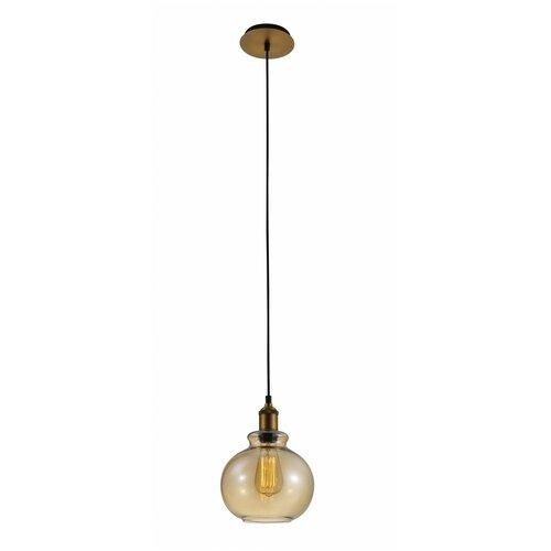 Светильник Crystal Lux OLLA SP1 AMBER, E27, 60 Вт недорого